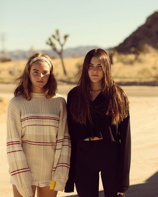 Megan and Katie, Pioneertown 2019